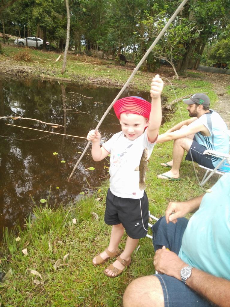 Winnende visser